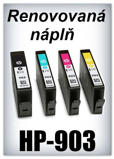 Náplnì do tiskáren HP-903 XL (renovované)