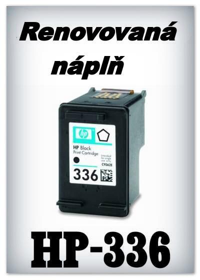 Náplně do tiskárny HP-336 XL - SADA 3 náplní - renovované