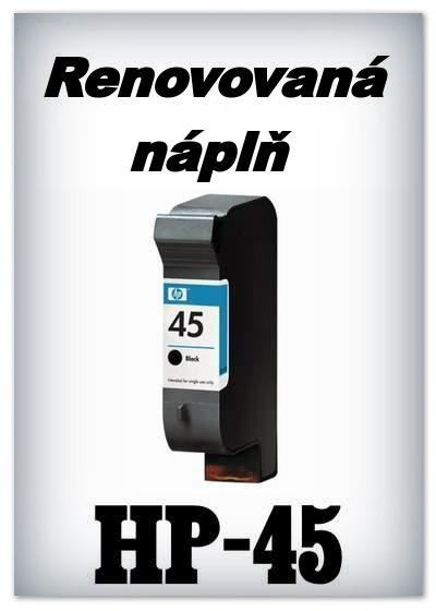 SuperNakup - Náplň do tiskárny HP-45 - black - renovovaná