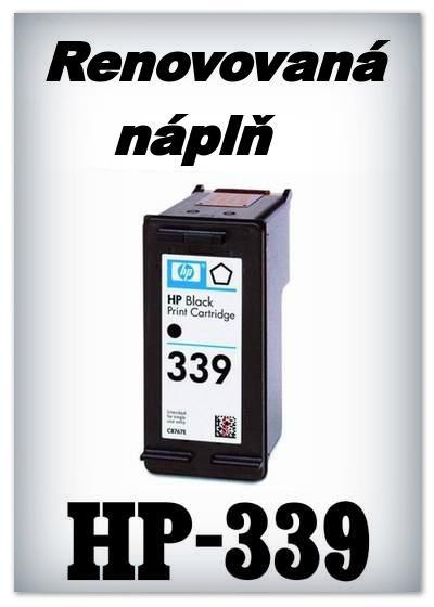 SuperNakup - Náplně do tiskáren HP-339 - black - SADA 3 náplní - renovované