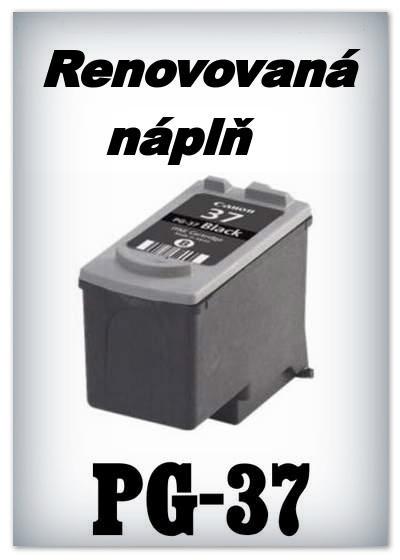 SuperNakup - Náplň do tiskárny Canon PG-37 XL - black - renovovaná