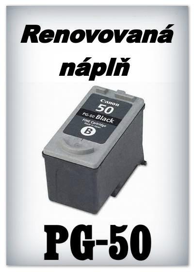 SuperNakup - Náplň do tiskárny Canon PG-50 - black - renovovaná