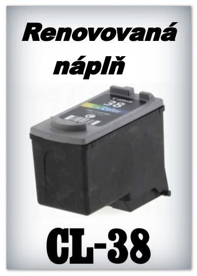 SuperNakup - Náplň do tiskárny Canon CL-38 XL - color - renovovaná