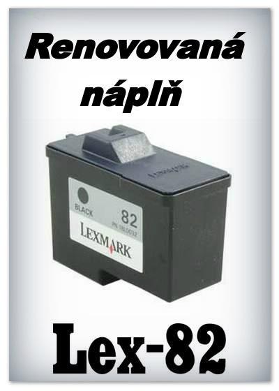 SuperNakup - Náplně do tiskáren Lexmark 82 - black - SADA 3 náplní - renovované