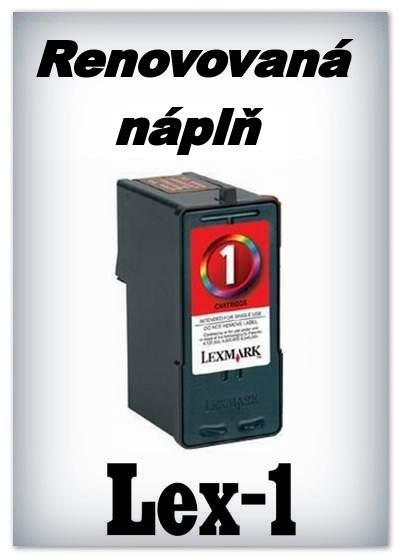 SuperNakup - Náplně do tiskáren Lexmark 1 - color - SADA 3 náplní - renovované