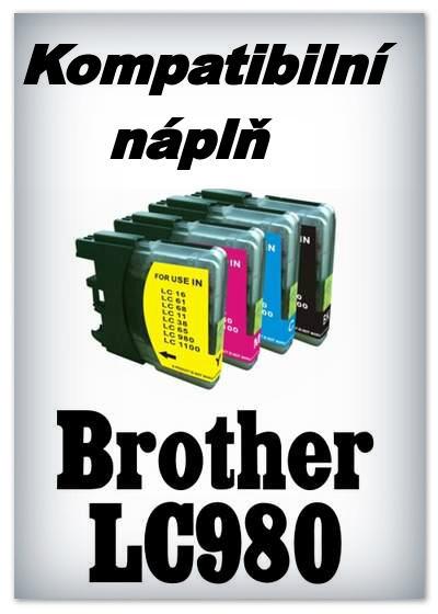 InkPower - Náplň do tiskárny Brother LC980Bk a LC1100Bk - black - kompatibilní