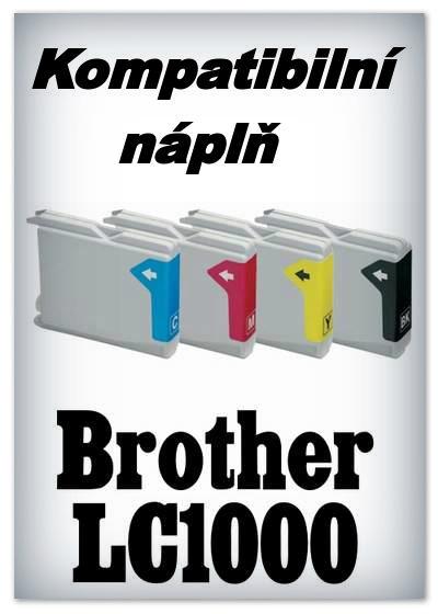 Náplň do tiskárny Brother LC1000BK - black - kompatibilní