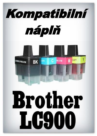 Handsome - Náplně do tiskáren Brother LC900 - SADA 4 náplní - kompatibilní