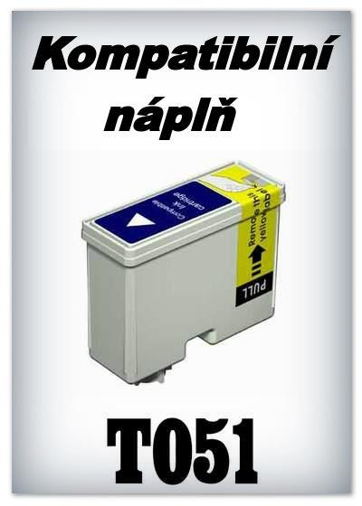 Náplň do tiskárny Epson T051 - black - kompatibilní