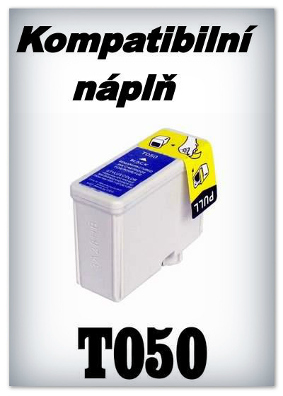Náplň do tiskárny Epson T050 - black - kompatibilní