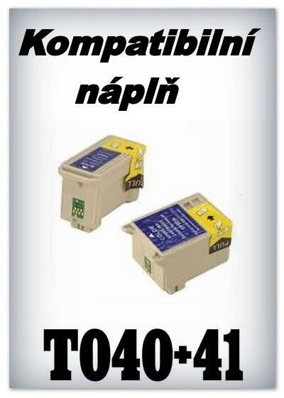Handsome - Náplň do tiskárny Epson T040 - black - kompatibilní