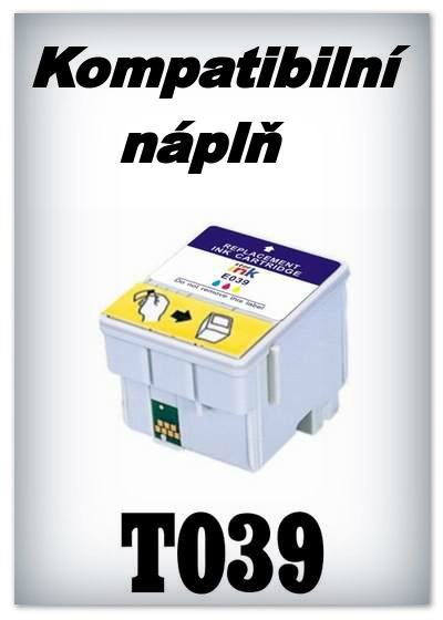 Náplň do tiskárny Epson T039 - color - kompatibilní