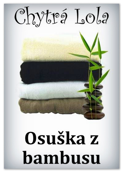 Chytrá Lola - Osuška ze 100 % bambusového vlákna (BO01) - béžová