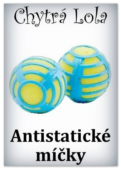 Zobrazit detail: Chytrá Lola - Antistatické míčky (2ks)