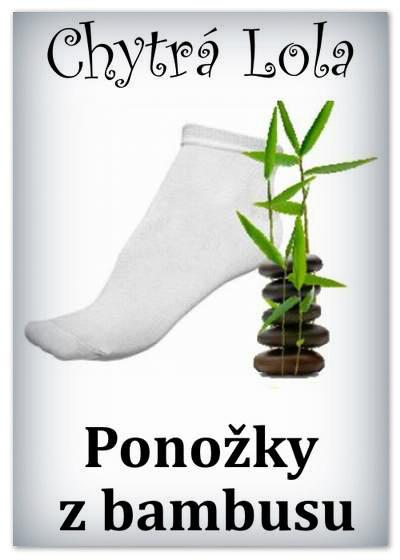 Chytrá Lola - Ponožky z bambus. vlákna - vel: 38-42/dámské/bílé (BP02)