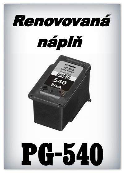 Náplně do tiskárny Canon - PG-540 - SADA 3 náplní - renovované