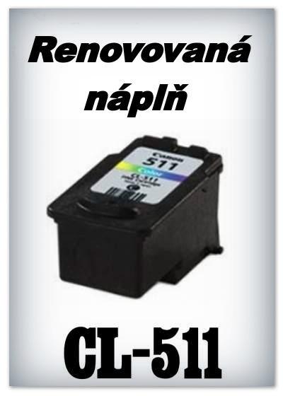 SuperNakup - Náplň do tiskárny Canon - CL-511 XL - color - renovovaná