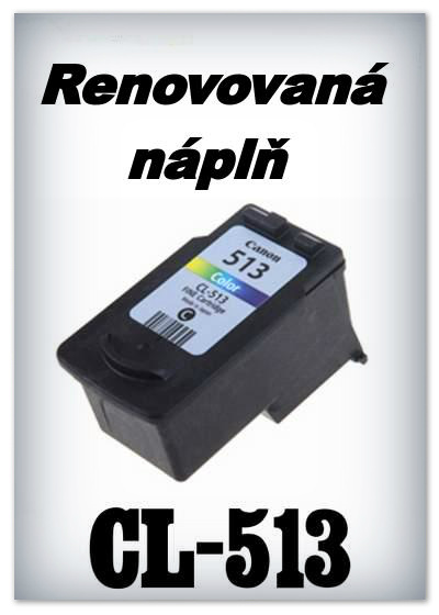 Canon CL-513 - Náplň do tiskárny Canon - CL-513 XL - color - renovované
