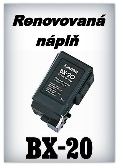 SuperNakup - Náplň do tiskárny Canon - BX-20 - black - renovovaná