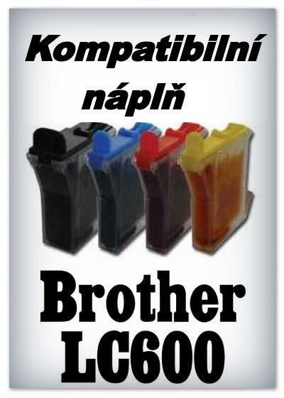 InkPower - Náplně do tiskáren Brother LC600 - SADA 4 náplní - kompatibilní