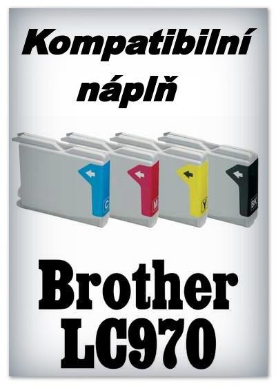 InkPower - Náplně do tiskáren Brother LC970 - SADA 4 náplní - kompatibilní