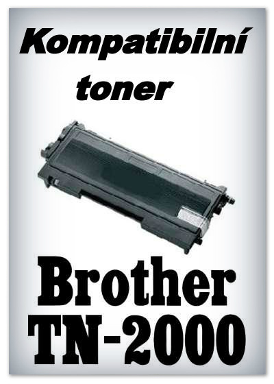 Kompatibilní toner Brother TN-2000 - black
