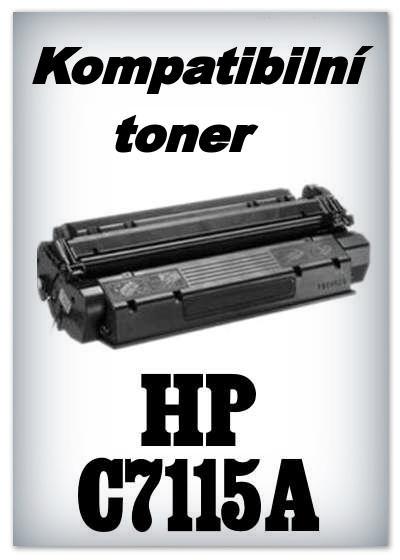 Kompatibilní toner HP C7115A - black