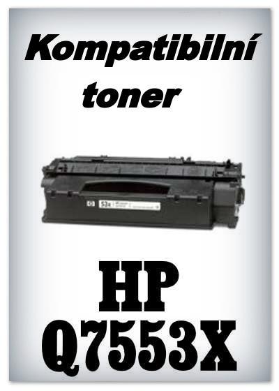 Kompatibilní toner HP Q7553X - black