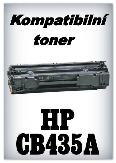 Kompatibilní toner HP CB435A - black