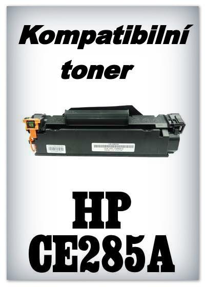 Kompatibilní toner HP CE285A - black