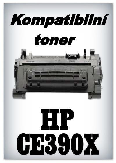 Kompatibilní toner HP CE390X - black
