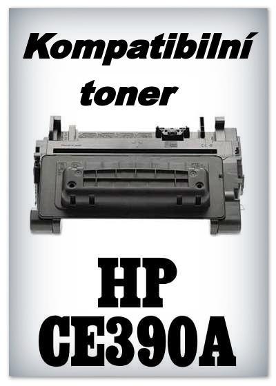 Kompatibilní toner HP CE390A - black