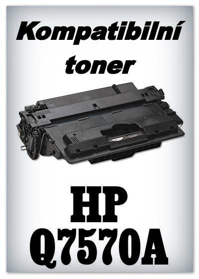 Kompatibilní toner HP Q7570A - black