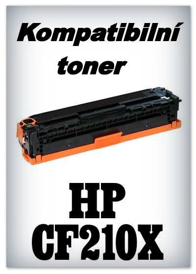 Kompatibilní toner HP CF210X - black
