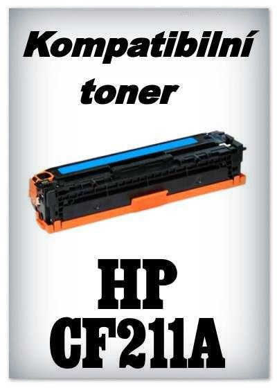 Kompatibilní toner HP CF211A - cyan