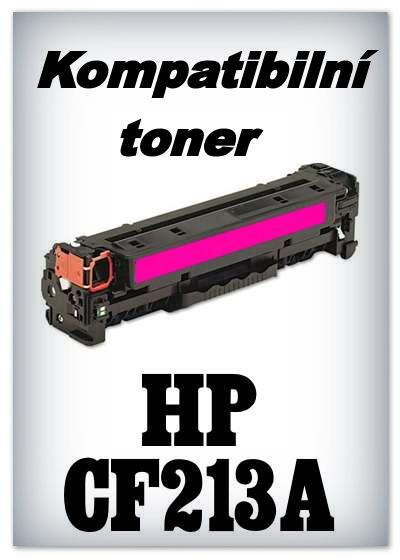 Kompatibilní toner HP CF213A - magenta