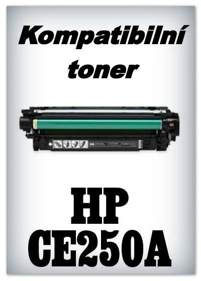 Kompatibilní toner HP CE250A - black