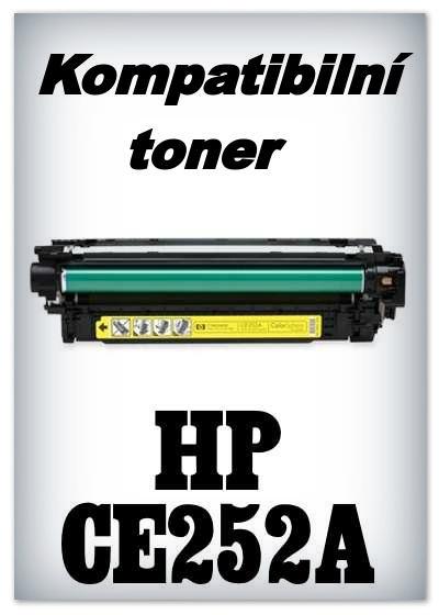 Kompatibilní toner HP CE252A - yellow