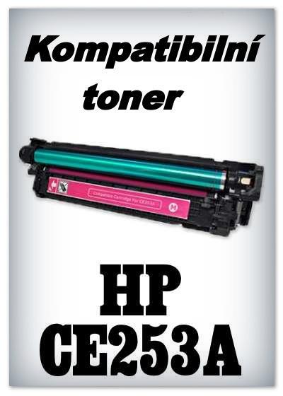 Kompatibilní toner HP CE253A - magenta