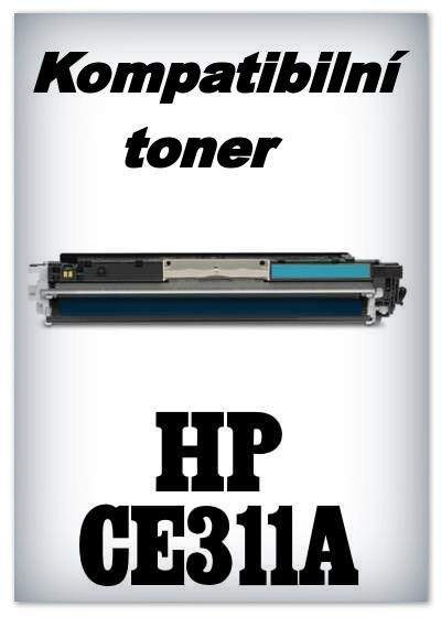 Kompatibilní toner HP CE311A - cyan