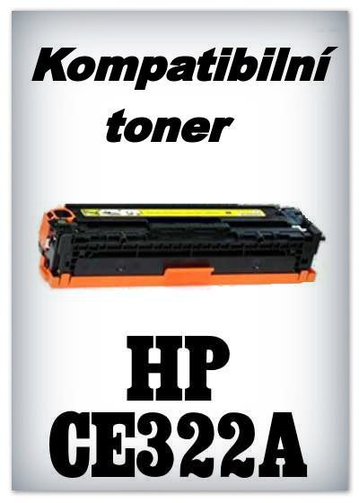Kompatibilní toner HP CE322A - yellow