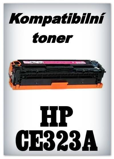 Kompatibilní toner HP CE323A - magenta