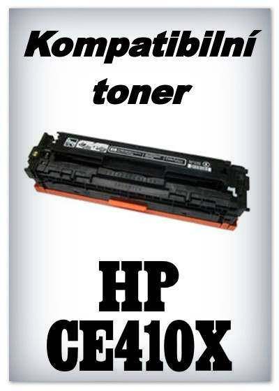 Kompatibilní toner HP CE410X - black
