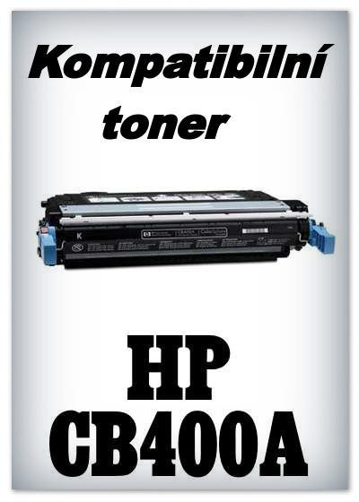 Kompatibilní toner HP CB400A - black