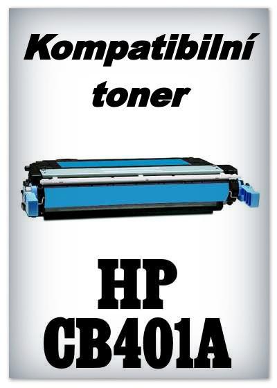 Kompatibilní toner HP CB401A - cyan