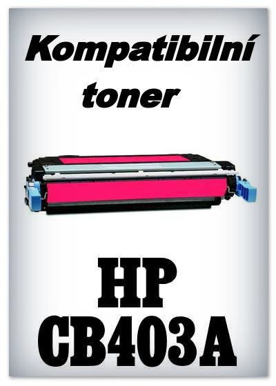 Kompatibilní toner HP CB403A - magenta