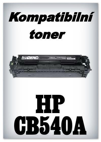Kompatibilní toner HP CB540A - black