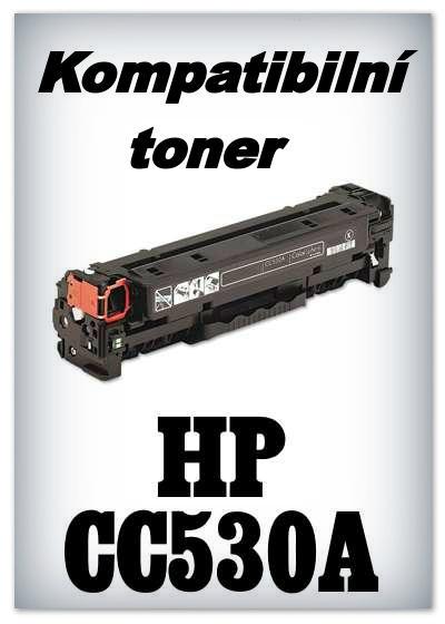Kompatibilní toner HP CC530A - black
