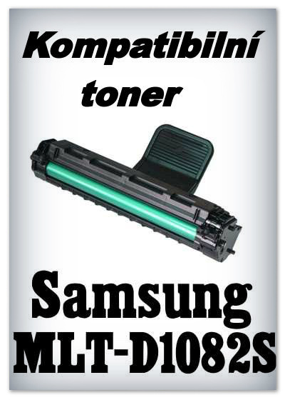 Kompatibilní toner Samsung MLT-D1082S - black