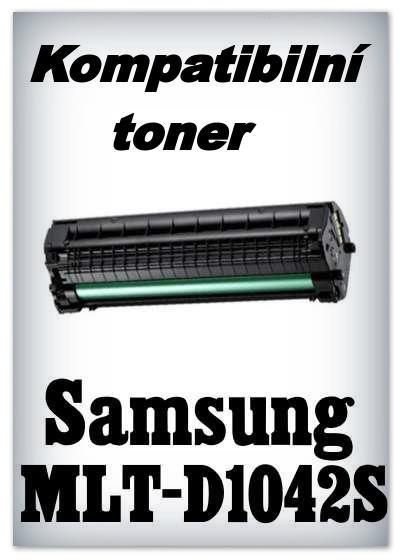 Kompatibilní toner Samsung MLT-D1042S - black